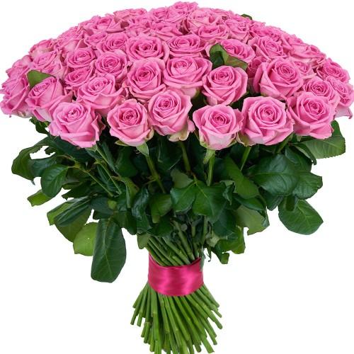 Купить на заказ Заказать Букет из 101 розовой розы с доставкой по Жескасгану с доставкой в Жезказгане