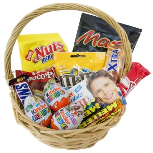Купить на заказ Заказать Корзина сладостей 2 с доставкой по Жескасгану с доставкой в Жезказгане