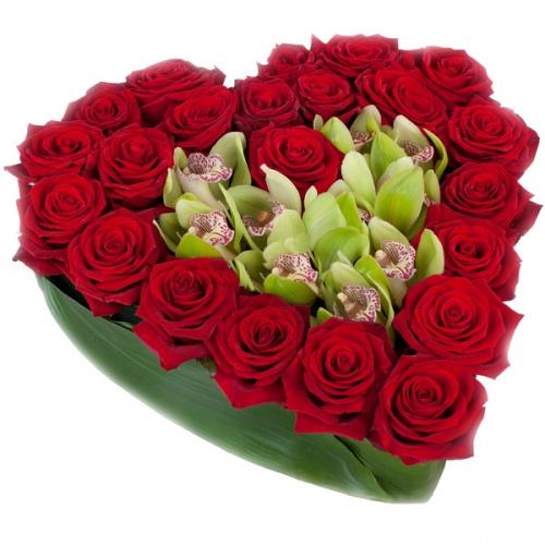 Купить на заказ Заказать Сердце 10 с доставкой по Жескасгану с доставкой в Жезказгане