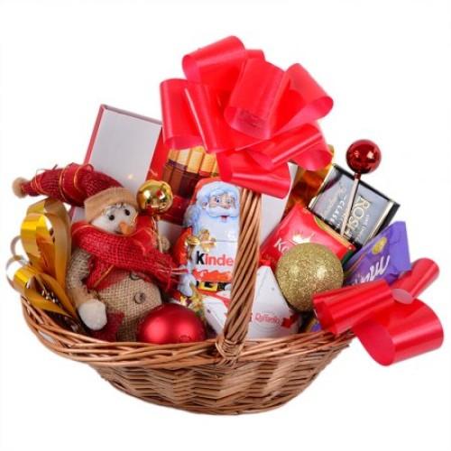 Купить на заказ Заказать Корзина с подарками с доставкой по Жескасгану с доставкой в Жезказгане