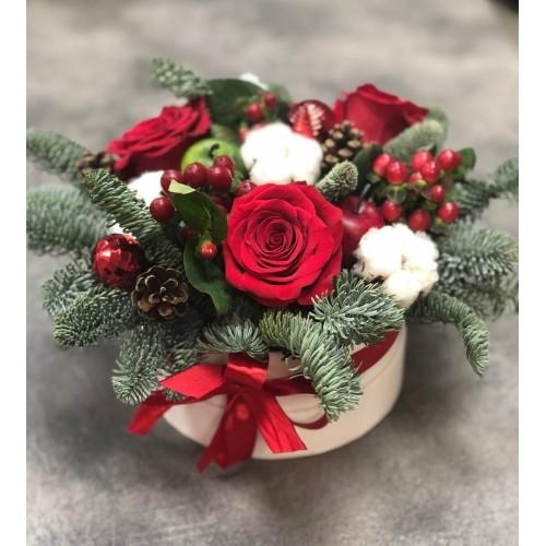 Купить на заказ Заказать Букет «Веселый Санта» с доставкой по Жескасгану с доставкой в Жезказгане