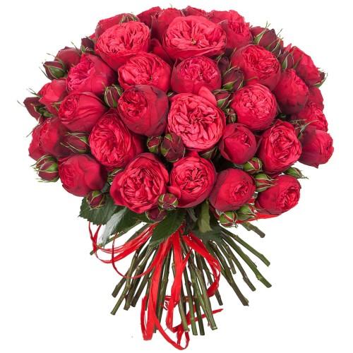 Купить на заказ Заказать Букет из 51 пионовидные розы с доставкой по Жескасгану с доставкой в Жезказгане
