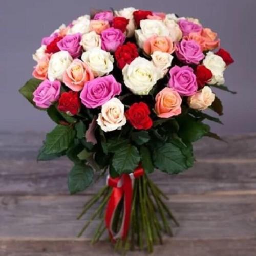 Купить на заказ Заказать Букет из 31 розы (микс) с доставкой по Жескасгану с доставкой в Жезказгане