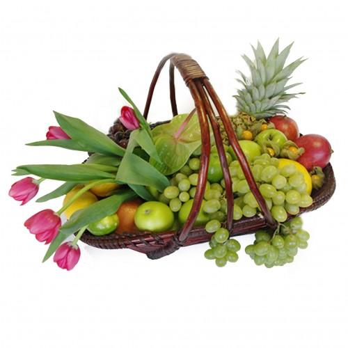Купить на заказ Заказать Корзина с фруктами 3 с доставкой по Жескасгану с доставкой в Жезказгане